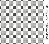 seamless polka dots pattern... | Shutterstock .eps vector #609738134