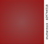 abstract seamless red geometric ... | Shutterstock .eps vector #609744518