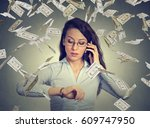 business management. busy young ...   Shutterstock . vector #609747950