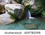 Little Waterfall Among The...