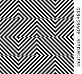 vector seamless pattern.... | Shutterstock .eps vector #609824810