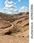 judaean desert   the holy land | Shutterstock . vector #609832886