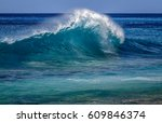 Beautiful Breaking Ocean Wave...