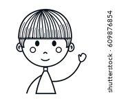 boy cartoon icon   Shutterstock .eps vector #609876854