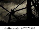 home build  | Shutterstock . vector #609878540