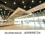 public event exhibition hall ... | Shutterstock . vector #609898724