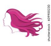 internacional woman day... | Shutterstock .eps vector #609900230