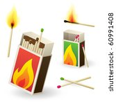 Vector Matchboxes With Matches
