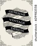 banner grunge black design | Shutterstock .eps vector #609983558