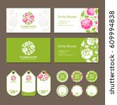 Corporate Identity For A Flowe...