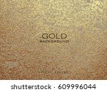 gold grunge texture to create... | Shutterstock .eps vector #609996044