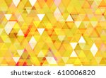abstract triangle pattern... | Shutterstock .eps vector #610006820