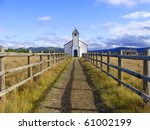 Country Church On The Prairies