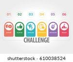 challenge concept | Shutterstock .eps vector #610038524