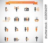 business management  training ... | Shutterstock .eps vector #610056059