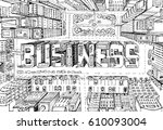 modern city illustration. look...   Shutterstock .eps vector #610093004