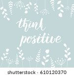 "simple background with ""think... 