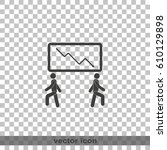business crack graph. | Shutterstock .eps vector #610129898