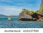 palawan  philippines   january... | Shutterstock . vector #610137500