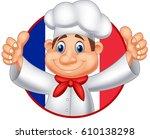 cartoon chef giving thumb up