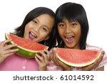 little best friend eating... | Shutterstock . vector #61014592