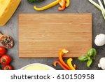 still life with food... | Shutterstock . vector #610150958