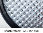 detail shot of the surface of a ... | Shutterstock . vector #610154558