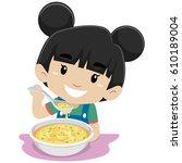 vector illustration of little...   Shutterstock .eps vector #610189004