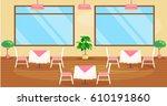 vector illustration of   modern ... | Shutterstock .eps vector #610191860