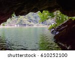 Cave Opening As Seen From...