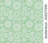 Geometric Flowers Pattern....