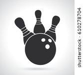 vector illustration. silhouette ...   Shutterstock .eps vector #610278704