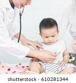 selective focus professional... | Shutterstock . vector #610281344