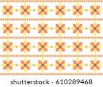 romanian traditional motif  | Shutterstock .eps vector #610289468