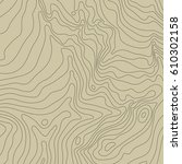 topographic map background... | Shutterstock .eps vector #610302158
