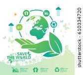 environment concept | Shutterstock .eps vector #610334720