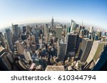 new york city  united states of ... | Shutterstock . vector #610344794