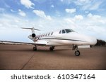 small airplane or aeroplane... | Shutterstock . vector #610347164
