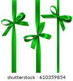 set of beautiful decorative...   Shutterstock .eps vector #610359854