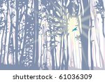 sunlight power | Shutterstock . vector #61036309