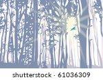 sunlight power | Shutterstock . vector #61036309