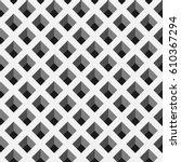 optical illusion vector.... | Shutterstock .eps vector #610367294