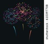 vector illustration with... | Shutterstock .eps vector #610397708