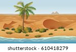 a high quality horizontal... | Shutterstock .eps vector #610418279