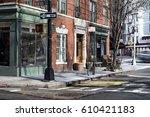 new york city street corner | Shutterstock . vector #610421183