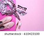 fashion. fashion shoes ...   Shutterstock . vector #610423100