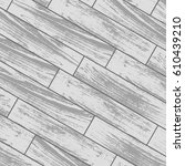 white laminate and parquet... | Shutterstock .eps vector #610439210