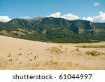 sand  desert plants and sangre...   Shutterstock . vector #61044997
