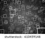 black and white background with ... | Shutterstock . vector #610459148