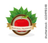 apppe natural product label...